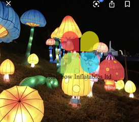 Lighting Inflatable mushroom decoration mushrooms for music festival