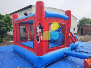 Inflatable Mickey boucner hot sale inflatable Mickey playground castle