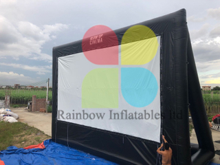 RB21034 Outdoor Inflatable Movie Screen Inflatable Projection Screen Inflatable Screen for Cinema Drive - in
