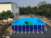 Metal Portable Frame Inflatable swimming Pool
