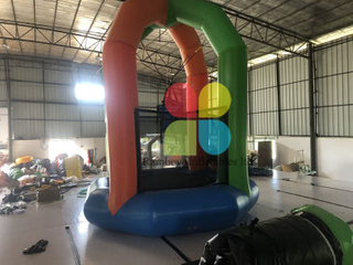 Diam 3.2m inflatable water game trampoline inflatable sport game for baseketball