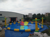 Big Inflatable Round Swimming Pool for Outdoor Pool Game