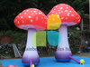 Giant Outdoor Decorative LED Lighting Inflatable Mushroom For Event Decoration