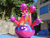 Advertising inflatable flower chain inflatable plant with light