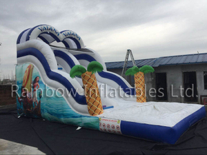 China High Quality Vaiana Water Slide Undersea Theme Water Slide Manufacturer