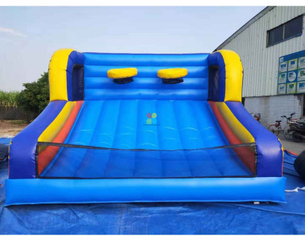 Rainbow Inflatable Party rental Inflatable Goal Shooting game manufacturers and suppliers in China Inflatable basket ball shooter