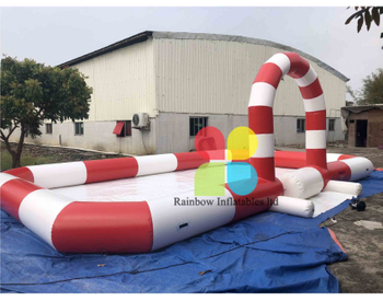 Inflatable Bumper Cars Playground with Air Arch For Kids