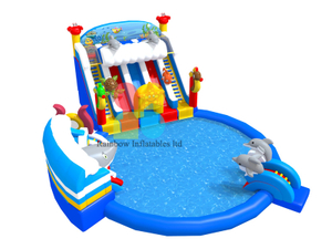 Ocean World Undersea Land Inflatable Ground water park