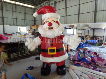 RB2009-1(2.2m) Inflatable High Quality Christmas Santa Xmas/ Inflatable Christmas Carton