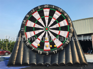Customized Large Outdoor Inflatable Dart Game Dart Board for Sale